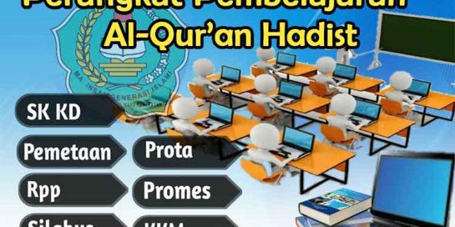 perangkat-pembelajaran-al-quran hadist, prota al-quran hadist, promes al-quran hadist, rpp al-quran hadist, silabus al-quran hadist, kkm al-quran hadist, kelas x, kelas xi, kelas xii