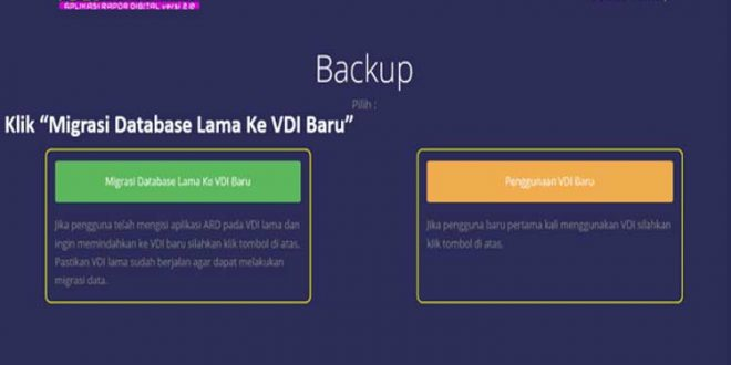 cara migrasi database, database vdi ard, cara backup database vdi ard, download vdi ard terbaru, cara restore database ard, ard error