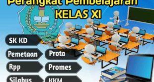 perangkat pembelajaran kelas xi k13, silabus kelas xi, rpp kelas xi, program tahunan kelas xi, program semester kelas xi